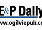 E & P Daily logo for the website
